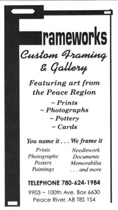 Frame Works - Picture Frame Dealers - 780-624-1984