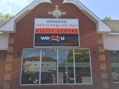 We-Fix-U Physio & Foot Health Center - Hospitals & Medical Centres - 905-233-4374