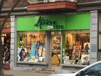 Affiche En Tête - Picture Frame Dealers - 514-522-0919