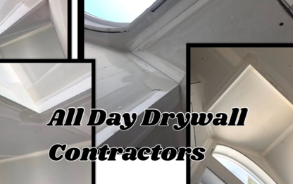 All Day Drywall Contractors - Painters - 780-381-9402