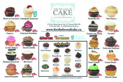 For The Love Of Cake - Cakes - 416-306-6446