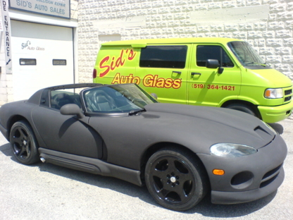 Sid's Auto Glass - Garages de réparation d'auto - 519-364-1421