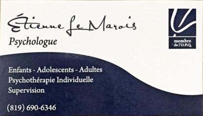 Étienne Le Marois Psychologue - Psychologists - 819-690-6346