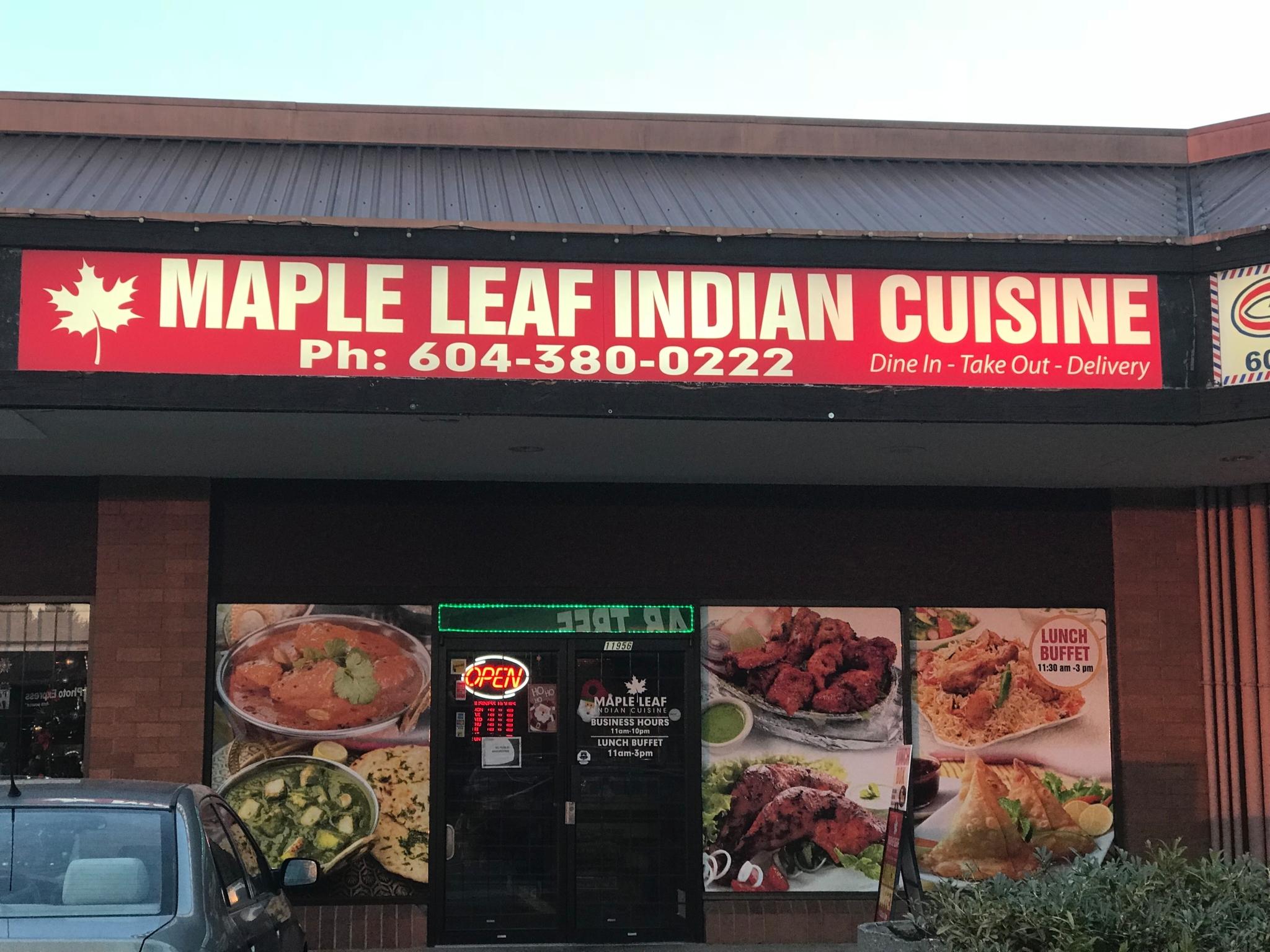 Indian Restaurant Maple Ridge