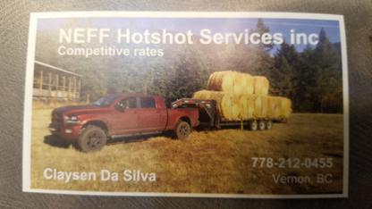 NEFF Hotshot Services - Transportation Service