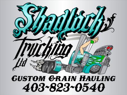 Shadlock Trucking - Services de transport