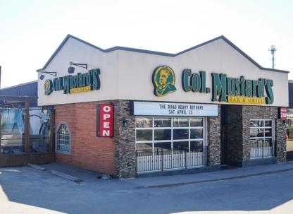 Col. Mustard Bar & Grill - Vegetarian Restaurants - 905-895-6663