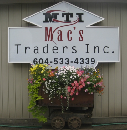 Mac's Traders Inc - Scrap Metals - 604-533-4339