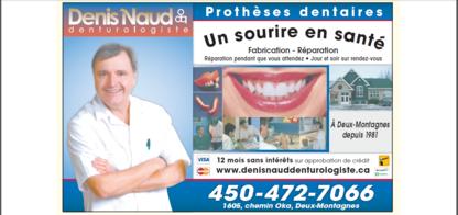 Denis Naud Denturologiste - Clinics - 450-472-7066