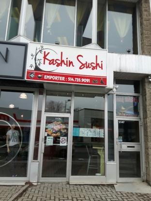 Sushi Kashin - Sushi & Japanese Restaurants - 514-735-9091