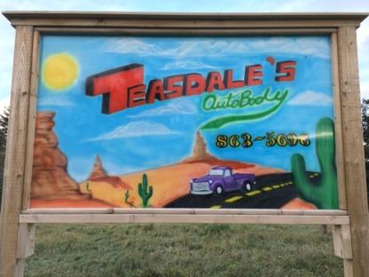 Teasdale's Autobody - Réparation de carrosserie et peinture automobile - 902-863-5696