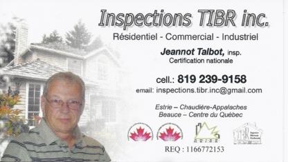 Inspections TIBR Inc - Inspection de maisons - 819-239-9158