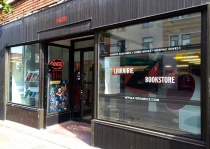Librairie Z - Book Stores - 438-387-7117