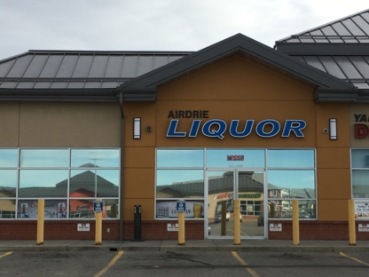 Airdrie Liquor Store - Spirit & Liquor Stores - 403-948-7011