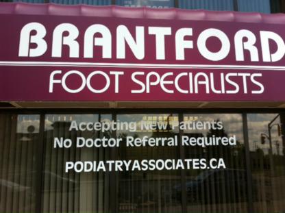 Brantford Podiatry Associates - Podiatrists - 519-751-2900