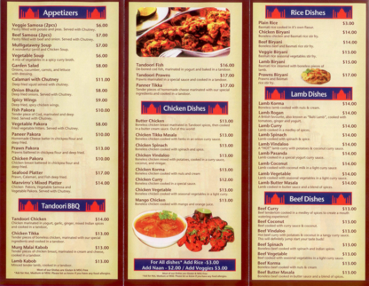 Manvirro's Indian Grill - Restaurants - 250-591-0558