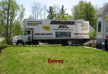 ACL Déménagement - Déménagement et entreposage - 450-569-8485