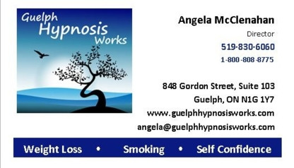Guelph Hypnosis Works - Clinics - 519-830-6060