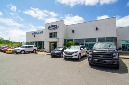 Highland Ford Sales Limited - Tire Retailers - 902-396-2020