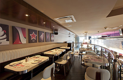 Deville Dinerbar - Restaurants de burgers - 514-281-6556