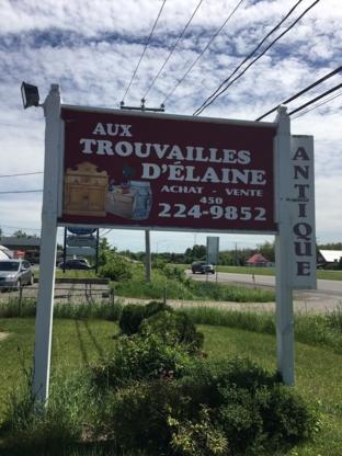 Les trouvailles d'Élaine - Antiquaires - 450-224-9852