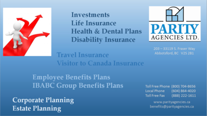 Parity Agencies Ltd - Employee Benefit Plans - 604-864-4020