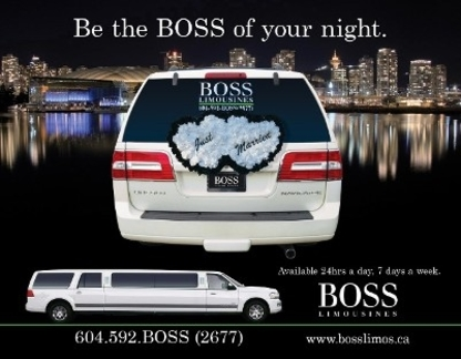 Boss Limousine Service - Limousine Service - 604-592-2677