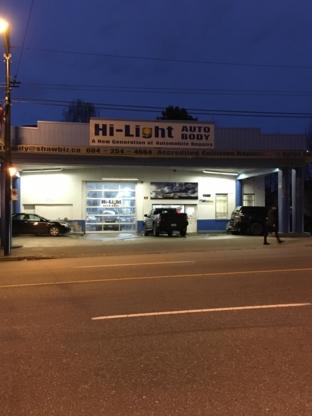 Hi-Light Autobody Shop - Auto Body Repair & Painting Shops - 604-254-4664