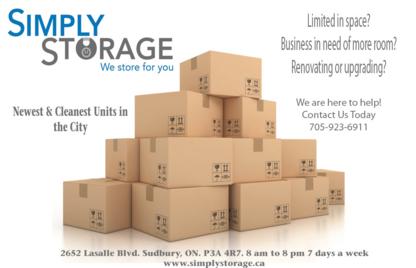 Simply Storage - Self-Storage