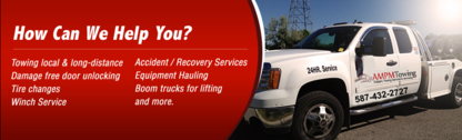 AM PM Towing - Vehicle Towing