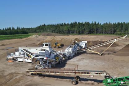 DDC Sand Gravel & Concrete - Équipement de manutention de sable et de gravier