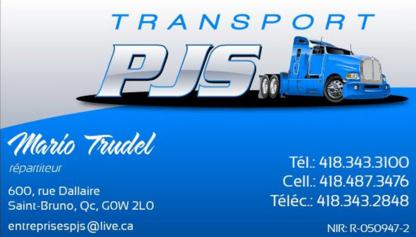 Transport PJS - Organisations commerciales - 418-343-3100