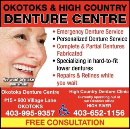 High Country Denture Clinic - Denturists - 403-652-1156