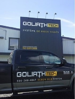 Goliathtech Screw Piles - Foundation Contractors - 506-260-4847