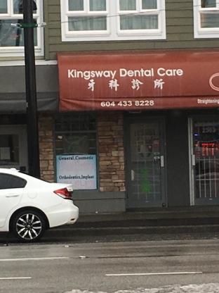 Kingsway Dental Care - Dentists - 604-433-8228