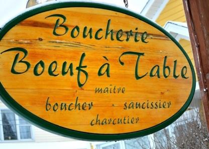 Boucherie Boeuf A Table - Butcher Shops