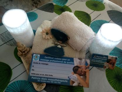 Patricia Alain Massothérapeute - Massage Therapists - 450-432-7123