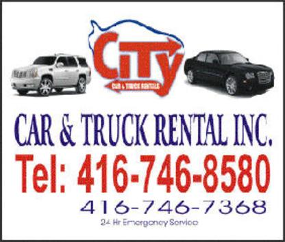 City Car & Truck Rental - Car Rental - 416-843-7788