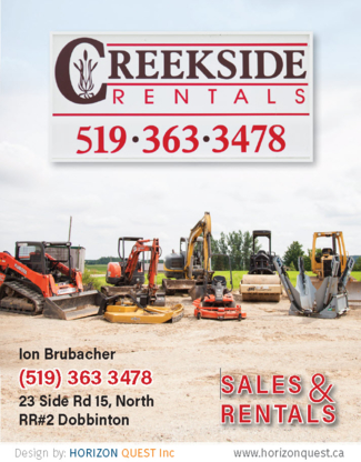Creekside Rentals - General Rental Service