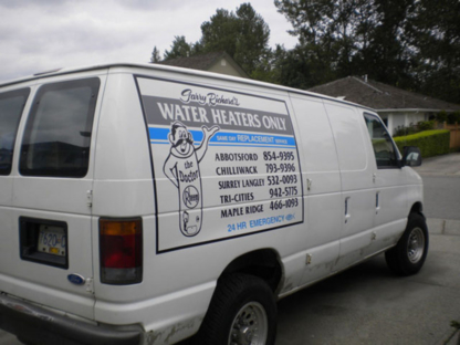 Garry Richard's Water Heaters Only - Water Heater Dealers - 604-854-9395