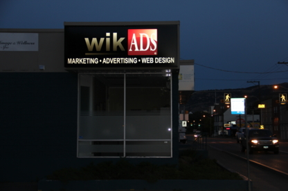 Wikads Inc - Web Design & Development - 250-372-7115