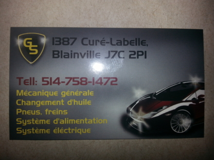 Gold Service Mécanique - Auto Repair Garages - 514-758-1472