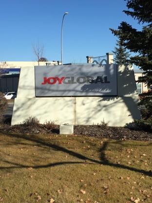 Joy Global (Canada) Ltd - Mining Equipment & Supplies Companies
