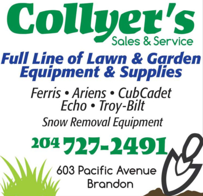 Collyer's Sales & Service - Golf Cars & Carts - 204-727-2491