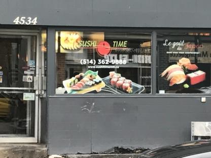 Sushi Time - Sushi et restaurants japonais - 514-362-9888