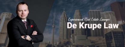 De Krupe Law - Real Estate Lawyers