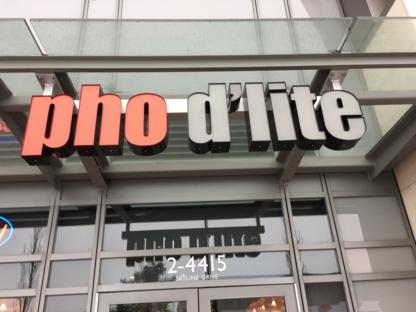 Pho D'Lite - Restaurants