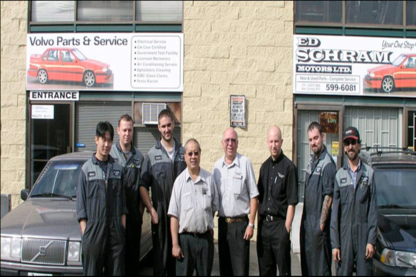 Ed Schram Motors Ltd - Used Auto Parts & Supplies - 604-599-6081
