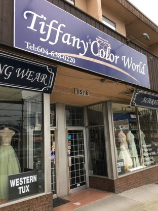 Tiffany Colour World - Bridal Shops - 604-638-0220