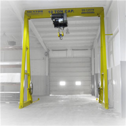 Engineered Lifting Systems & Equipment - Crane Manufacturers & Distributors - 519-669-5545